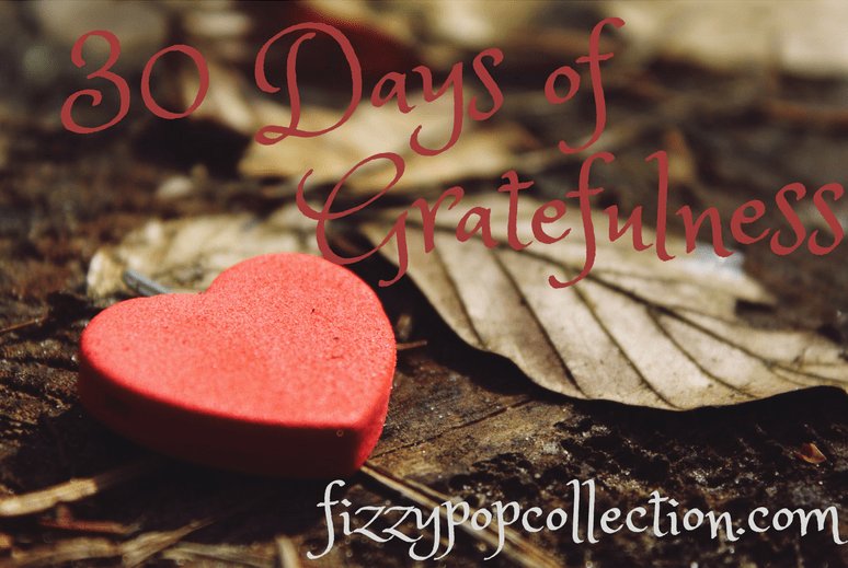 30 Days of Gratefulness: Day 1