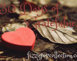 30 Days of Gratefulness: Day 20