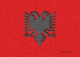 Flamuri shqiptar me efekt