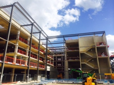 MPS Hendon Structural Steelwork