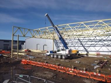 BAE Samlesbury 430 Structural Steelwork