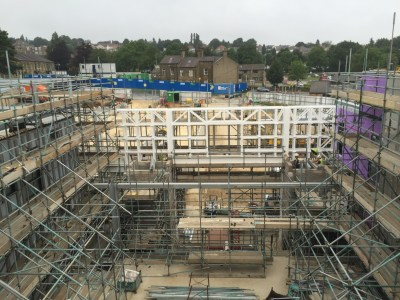 Bradford Royal Infirmary Ward Block 2 & CCU Structural Steelwork