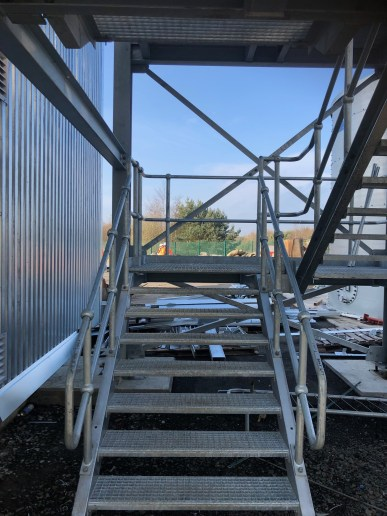 SFRS Newbridge Training Facility Structural Steelwork