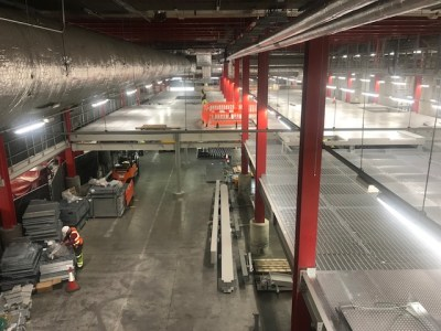 Stansted Baggage Hall Upgrade Structural Steelwork
