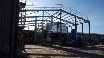 Mochdre Biomass NB4 Structural Steelwork