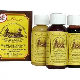 CCL Gunstock Oil Finishing Kit 3x50 ml
