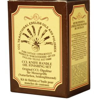 CCL Knife Handle Oil Finishing Set