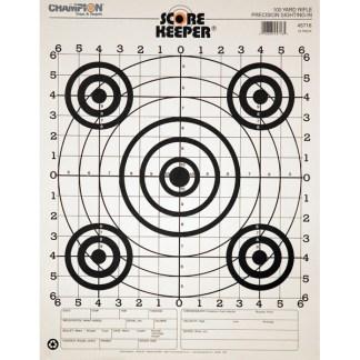 Rifle Innskytning skive 100m (12pk)