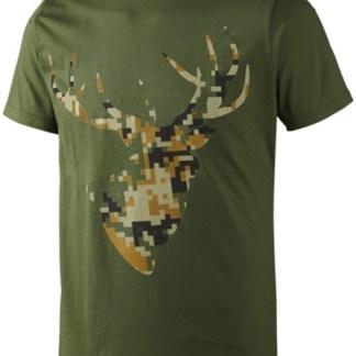 Seeland T-shirt Camo Stag