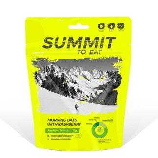 Summit To Eat Havregrøt med bringebær
