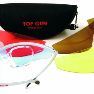 Top Gun skytebriller med spesial glass
