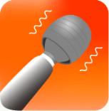 マッサージアプリ「電動マッサージ器」のアイコン