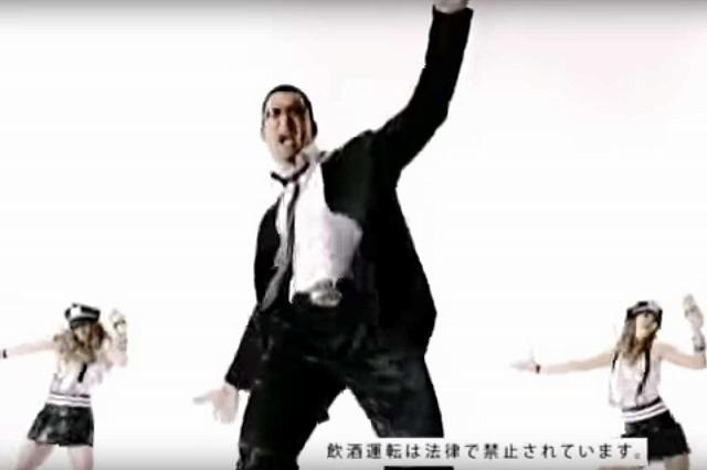 蝶野正洋踊る「ジョッキ生8クリアストロング」