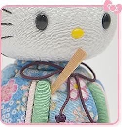 笏(しゃく) 【数量限定】ハローキティの手作りひな人形キット 人形の久月HPから引用