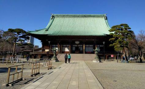 護国寺の観音堂(本堂)