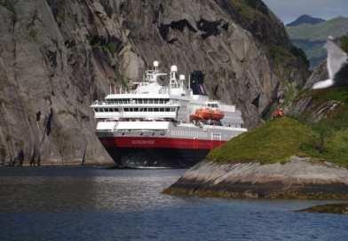Vereenvoudiging Hurtigruten route langs Noorse kust