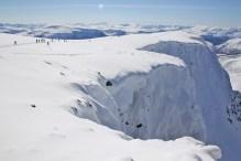 The Sunndalsnipa summit plateau