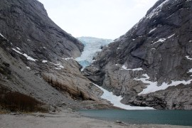 The glacier arm