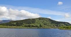Sjønakletten seen from the road