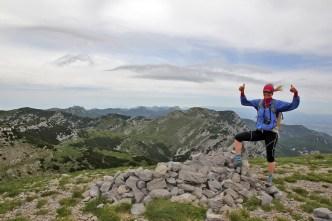 Anne on the summit