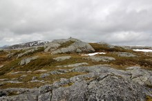 Landseterfjellet summit
