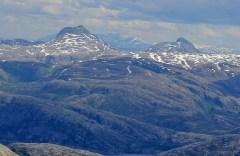 The Finnknean peaks