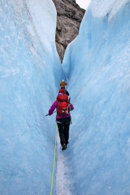 A cool crevasse