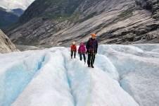 Glacier walkabout