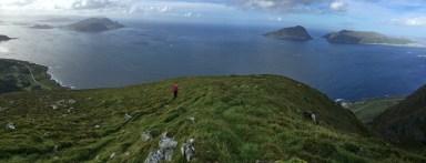 On the east ridge