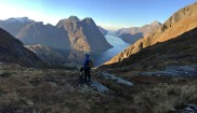 Descending from Kårdalen
