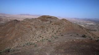 The high point on the La Lapa ridge (north view)