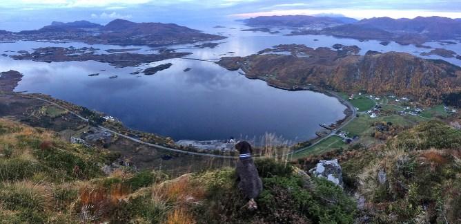 View from Sandvikhornet