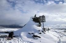 Veslefjell summit