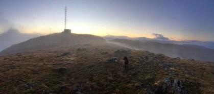 Heading back down to fog