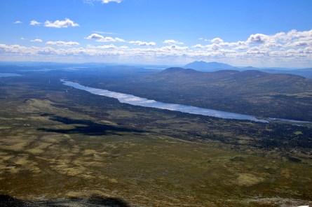 Lake Langsjøen