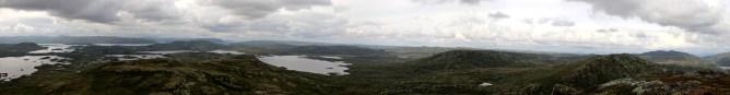 Grottehovda panorama (2/2)