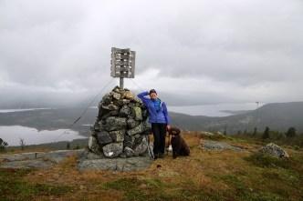 On top of Tunhovdåsen