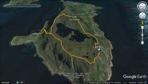 My round trip route