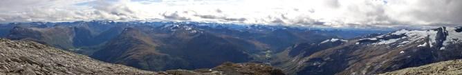 South top panorama (2/3)