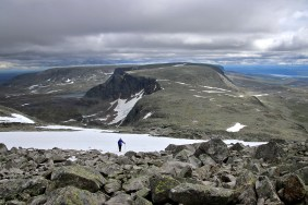View towards the eastern part of Hallingskarvet