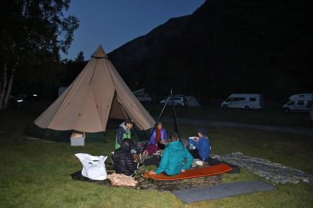 Gathering in Jostedalen