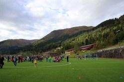 Raudmelen seen from the soccer field