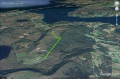 The route to Lyngstadfjellet