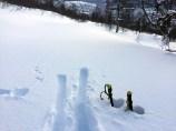 Lots of snow...