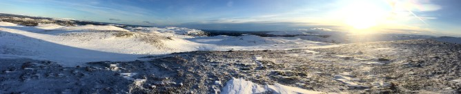 Summit panorama (2/2)