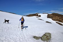 On the ridge to Urdeggi