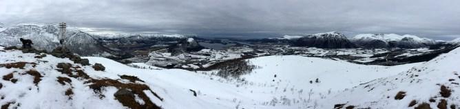 On top of Røsetåsen