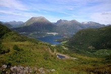 Overlooking Høydal