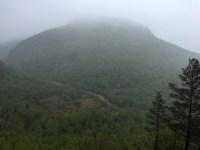 Gråfjellet - across the road