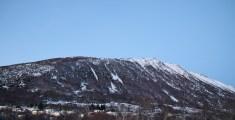 Garnestua and the ridge we followed